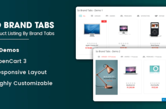 so brand tabs for opencart